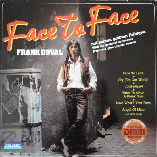 "Frank Duval - ""Face To Face"" (1982) FrankDuvalLPFaceToFace"