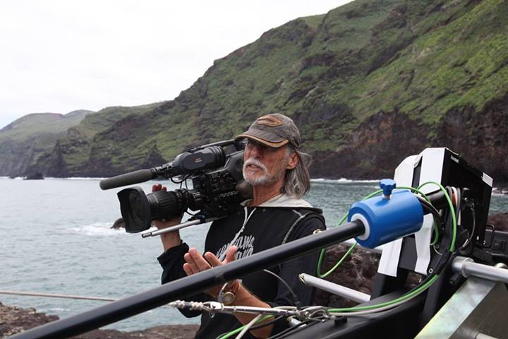 Frank Duval with camera - shooting on La Palm.jpg